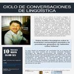Imagen Segunda Charla del Ciclo de Conversaciones de Lingüística