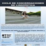 """Imagen Departamento de Español invita a la charla """"Percepción del habla en una segunda lengua: desafíos y oportunidades"""""""