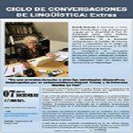 Imagen Ciclos de Conversaciones de Lingüística Extra: Dra. Danielle Zaslavsky
