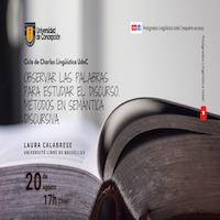 Imagen Ciclo de Charlas Lingüísticas UdeC